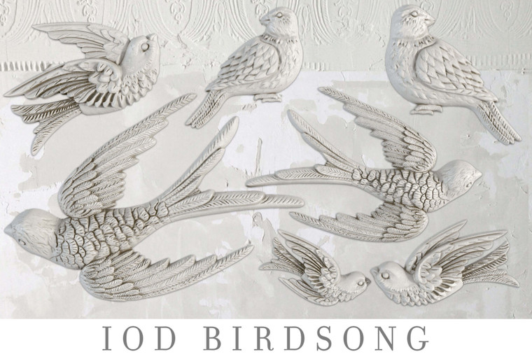 IOD Decor Moulds™ Birdsong