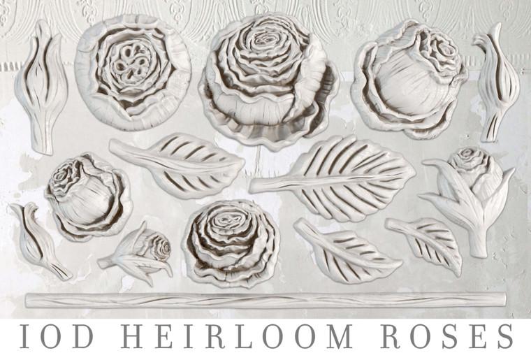 IOD Decor Moulds™ Heirloom Roses