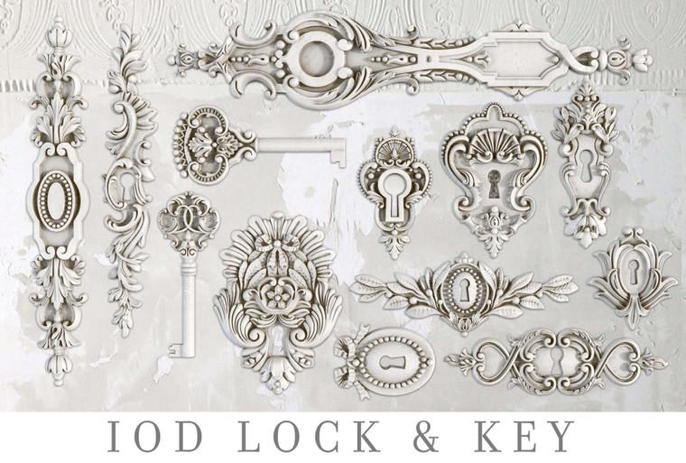 IOD Decor Moulds™ Lock & Key