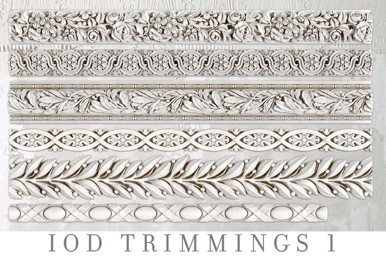 IOD Decor Moulds™ Trimmings 1