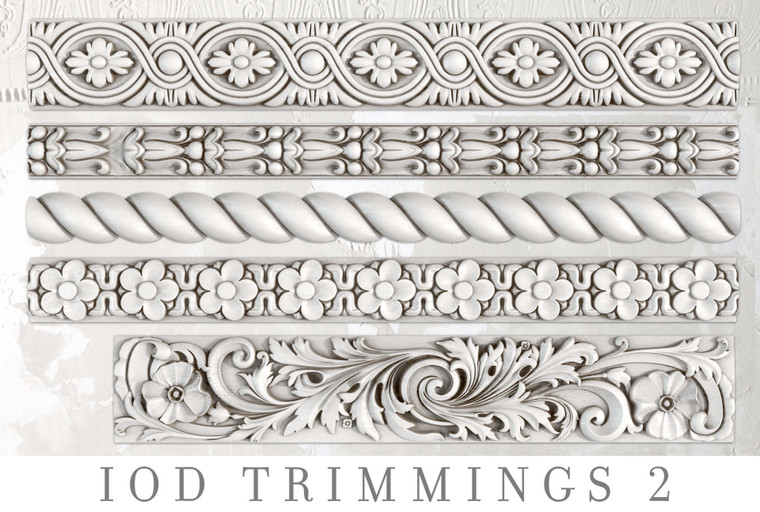 IOD Decor Moulds™ Trimmings 2
