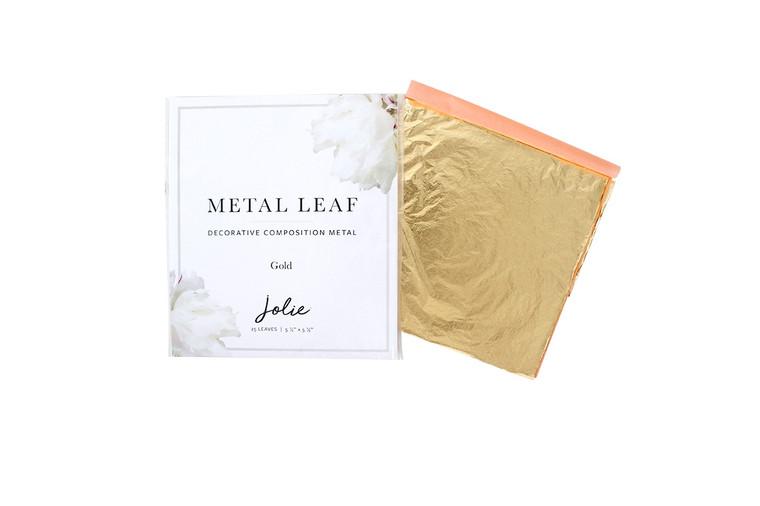 Jolie| Metal Leaf | Gold