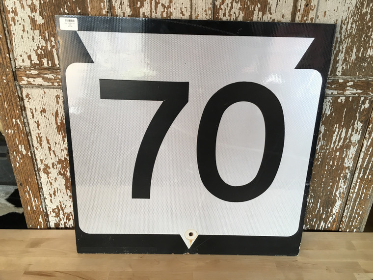 Hwy 70 Wisc DOT Sign