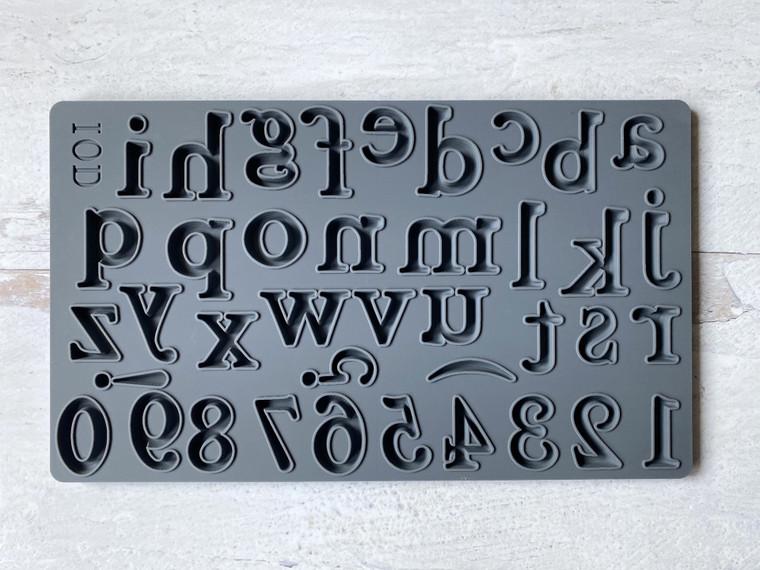 """IOD Decor Moulds™ """"Harper"""" 6x10"""