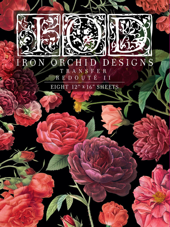 Iron Orchid Designs IOD Redoute II Transfer