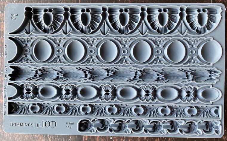 IOD Decor Moulds™ Trimmings 3 6x10