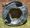 """36m length of 1"""" Fire Hose (Australian Made) with camlock and Brass Fire Nozzle"""