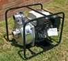 Honda GX160 5.5 hp Engine & SERH-50F Koshin Heavy Duty Single Impellor Fire Pump End in a steel roll frame - Made in Japan