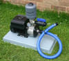 Old style Grundfos CMBE with Polyslab base and fittings kit.