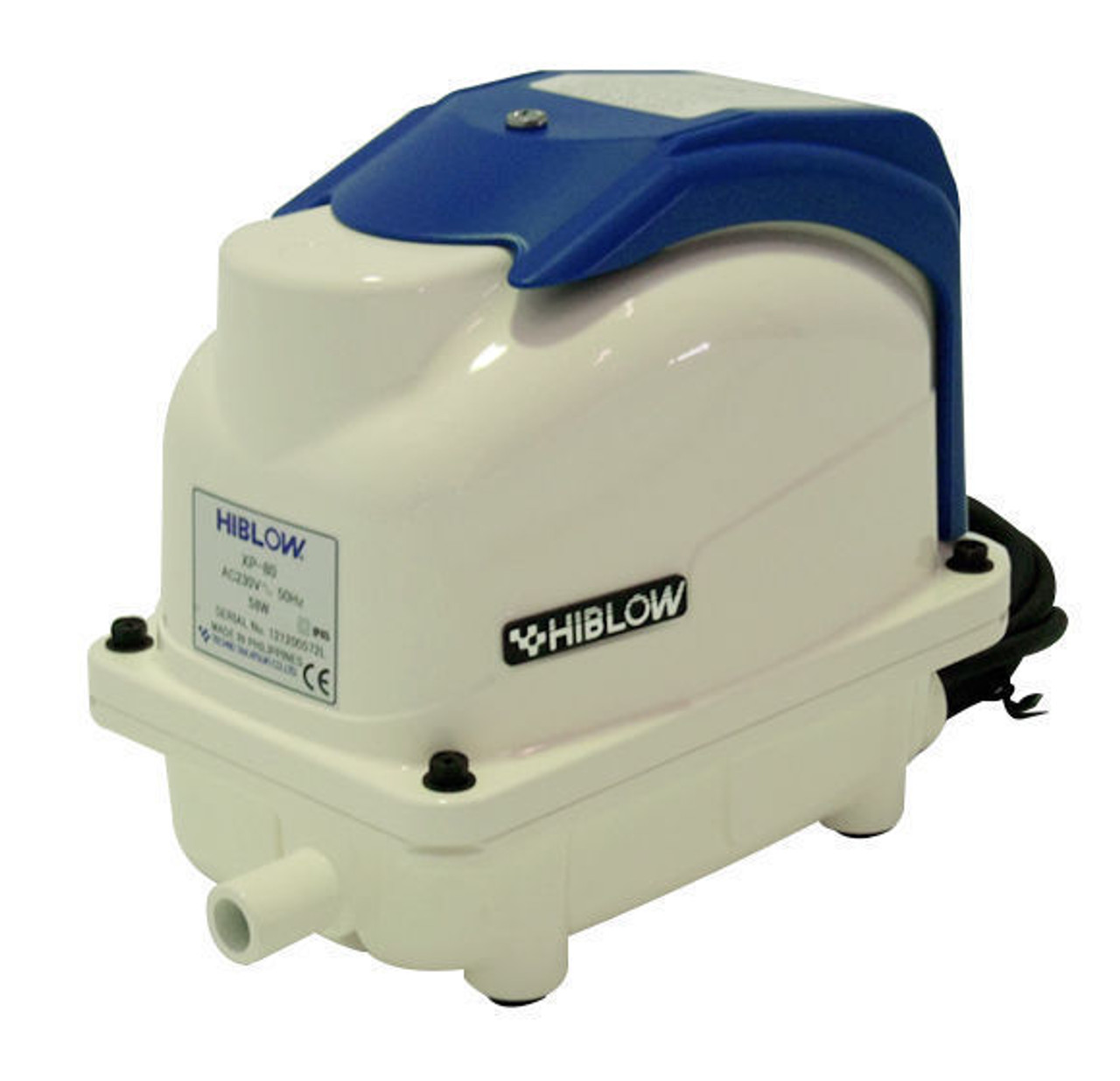 The New XP80 Hi-Blow Techno Takatsuki Air Pump for Water Treatment Units