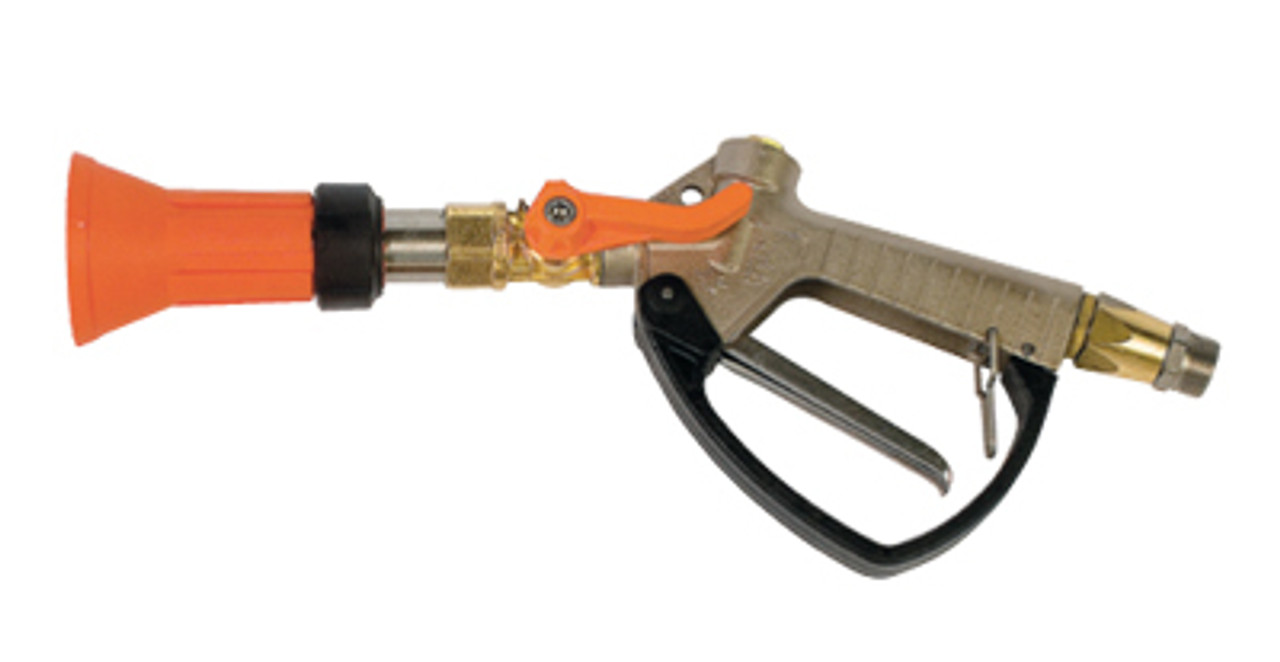 "Turbo 400 spray metal handle gun with 1/2"" male BSP brass inlet and 2.0mm nozzle (with swivel inlet)"