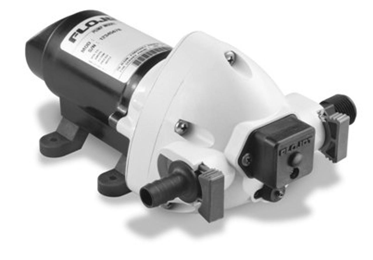 Flojet Triplex 03526-144 Pressure Pump 12v DC (Santoprene/EPDM) 11 L/Min Max with Bypass