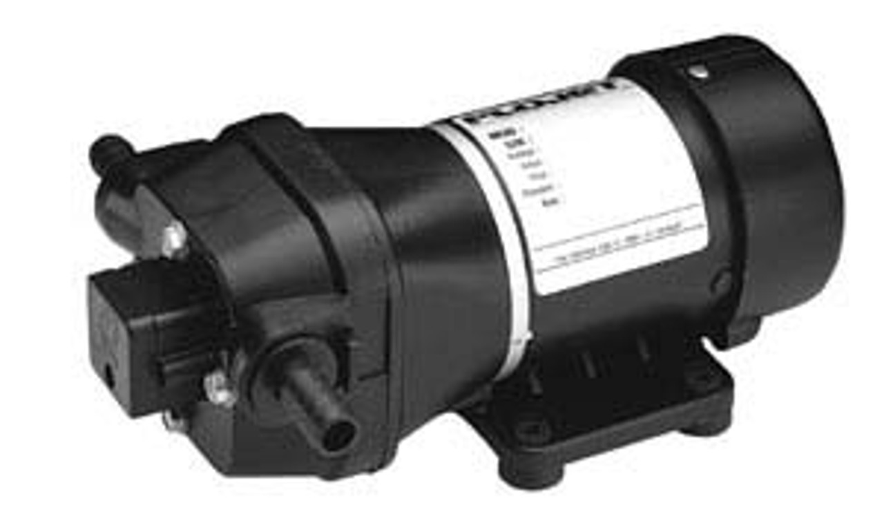 Flojet R4300-242 240v AC Diaphragm Pump Santoprene & EPDM 12.1 L/min max