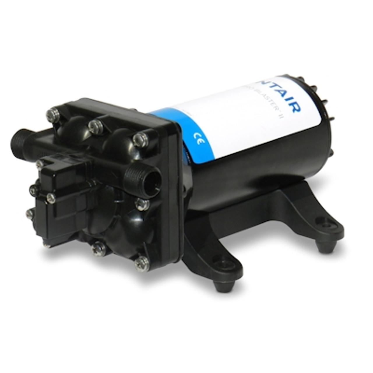 "Shurflo 4248-163-E09 ""Pro-Blaster II"" Automatic 24v DC Pump (Santoprene/EPDM) 15.1 L/Min Max 60 psi Max"