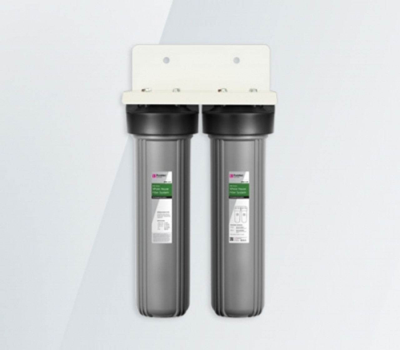 Puretec Ecotrol EM2-110 series high flow dual whole house water filter