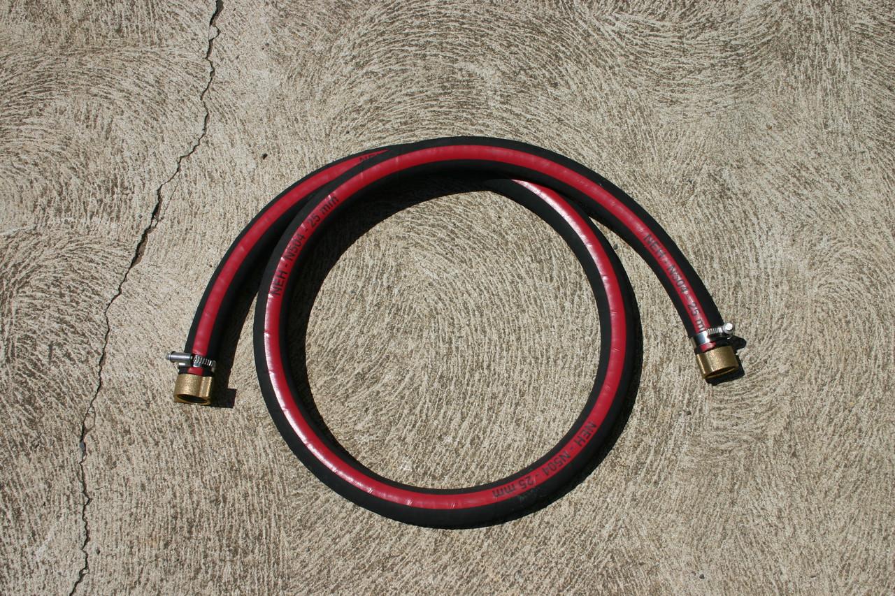 Pump suction kit - Tank to pump flexible connection - 1m of hose