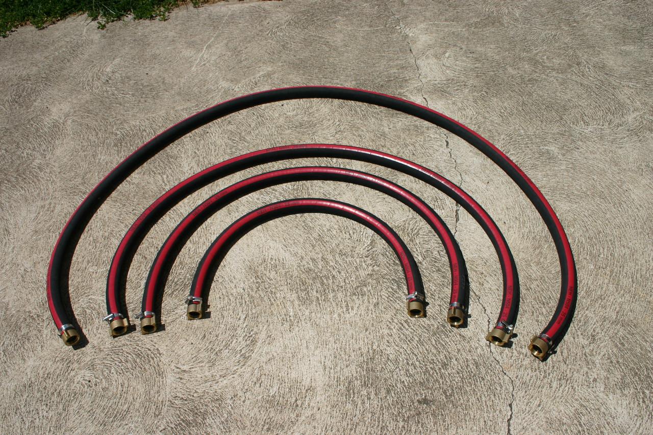 Pump suction kit - Tank to pump flexible connection - 2m of hose
