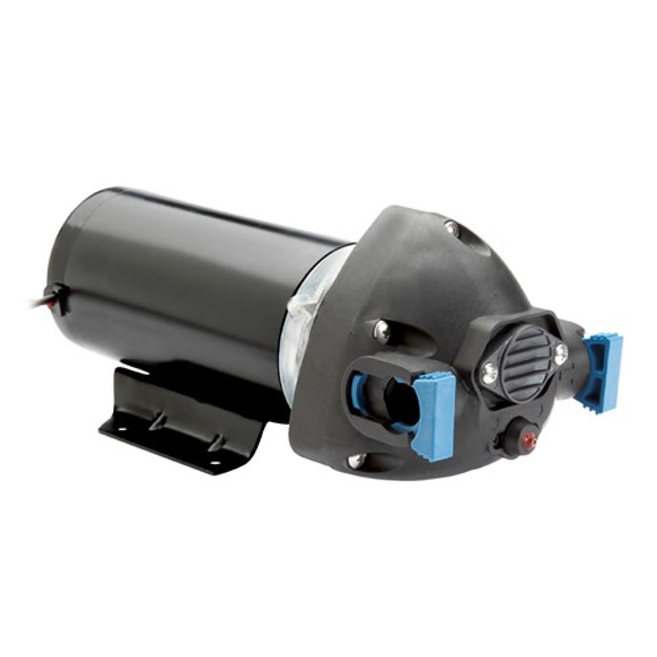 Road roller pressure pump