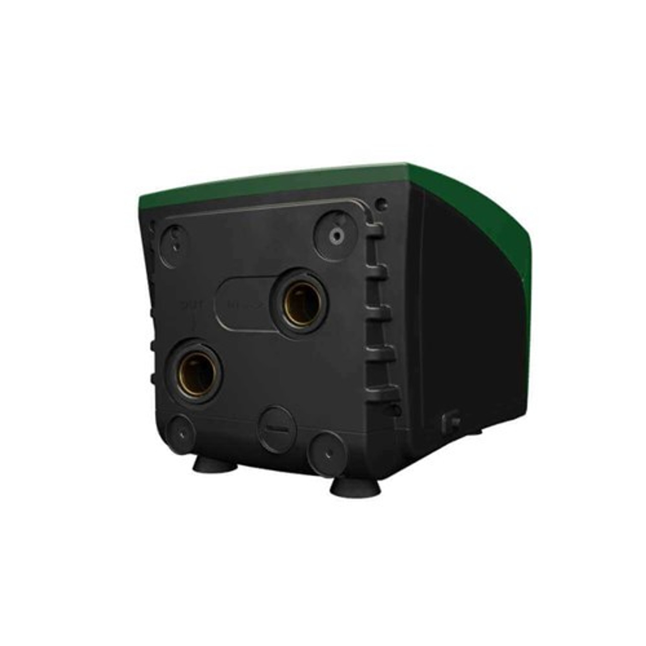 Dab Esybox min variable speed drive pump unit inlet and outlet view
