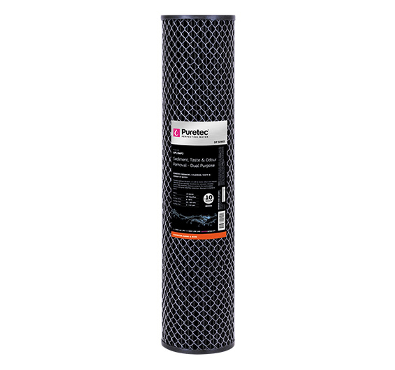 DP10MP2 dual purpose carbon filter cartridge