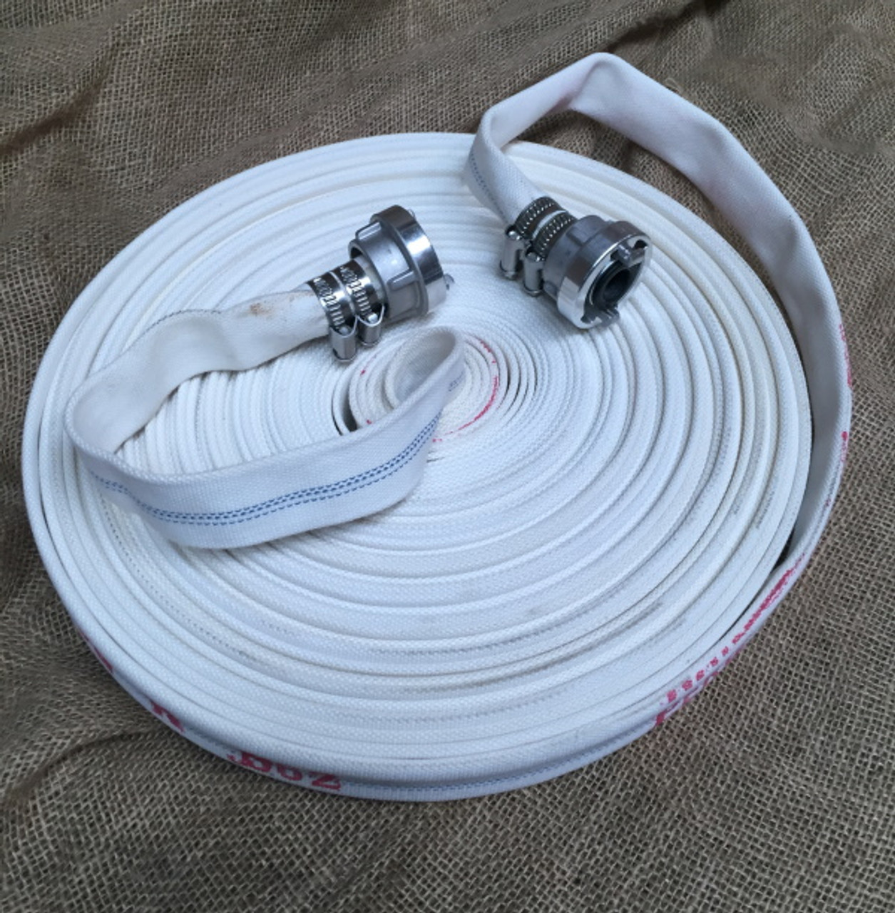 25mm x 30m Ranger percolating fire hose with Storz fittings.