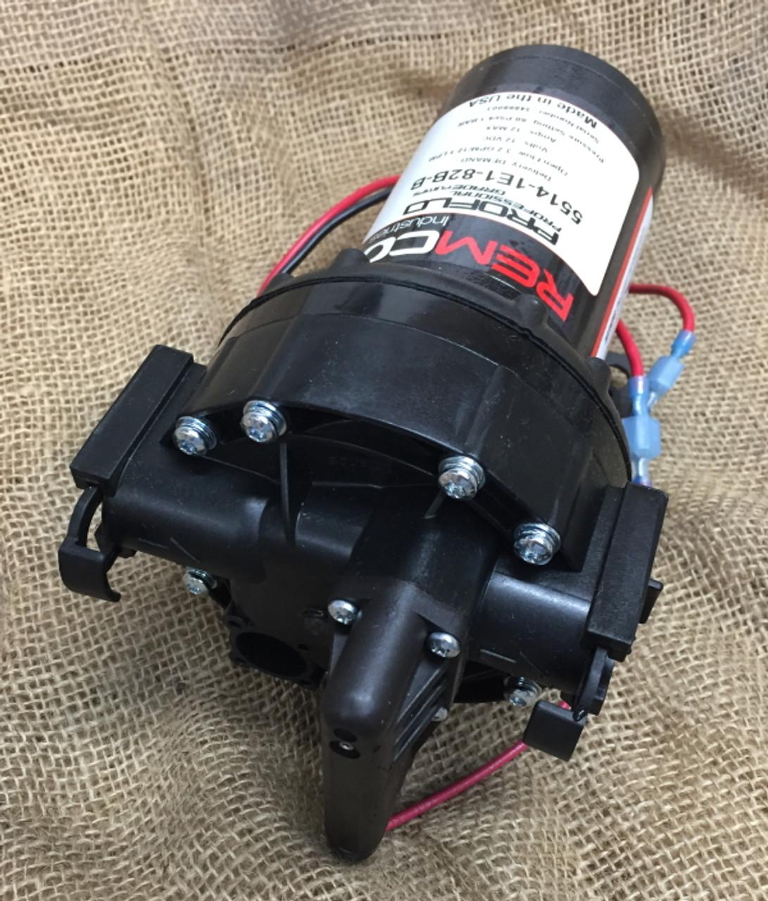 Remco automatic 12v DC pressure pump model 5514-1E1-82B no 2.