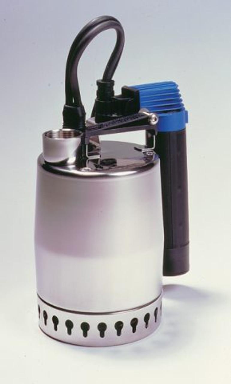 The Grundfos KP sump pump