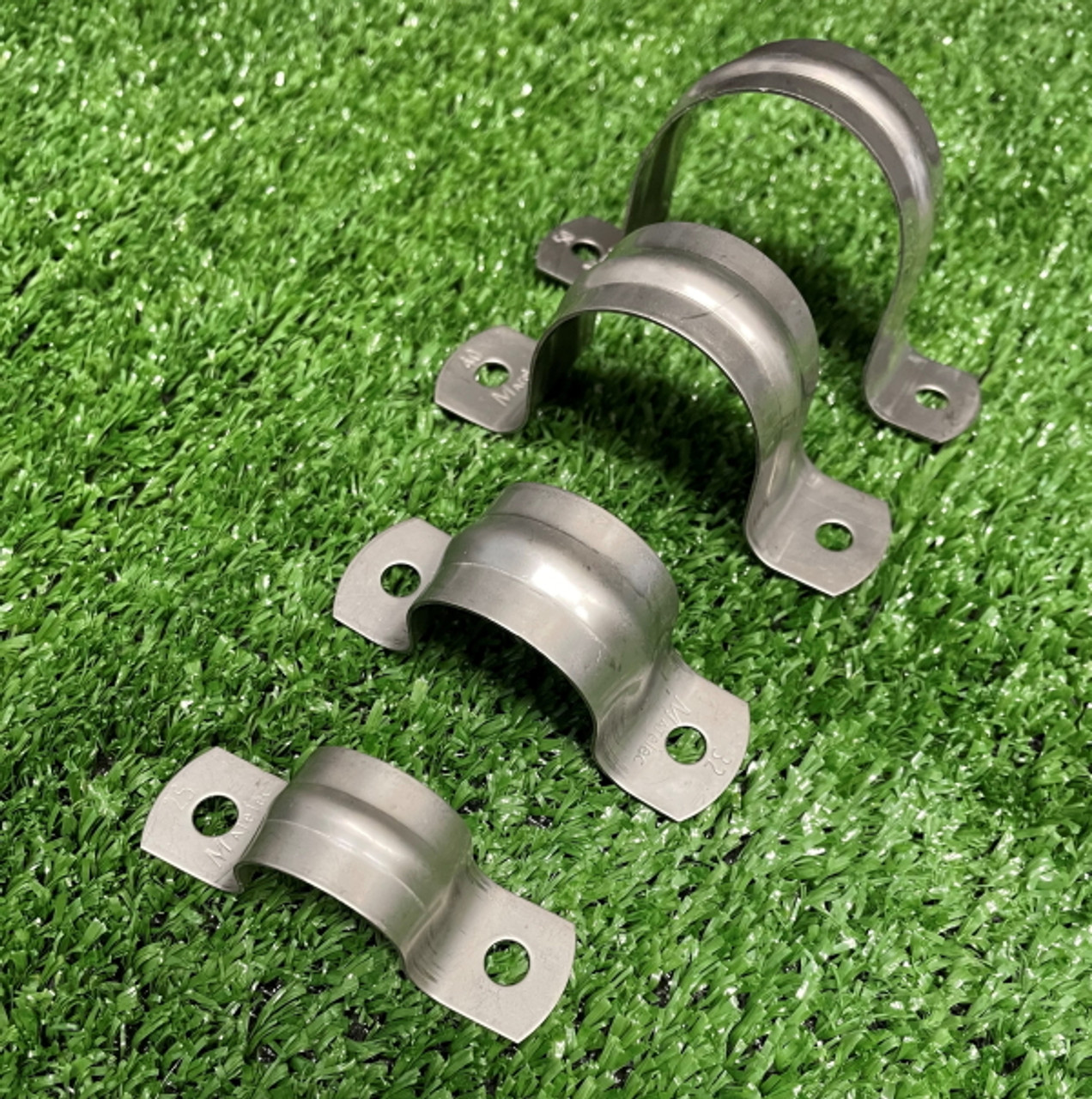 316 stainless steel saddles, 25, 32, 40 and 50mm.
