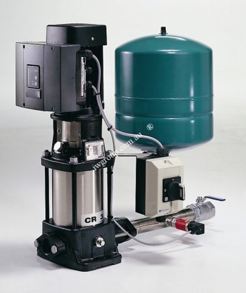 Grundfos Hydro Solo E CRIE3-15 Single Phase Automatic Variable Speed Multistage Pump System