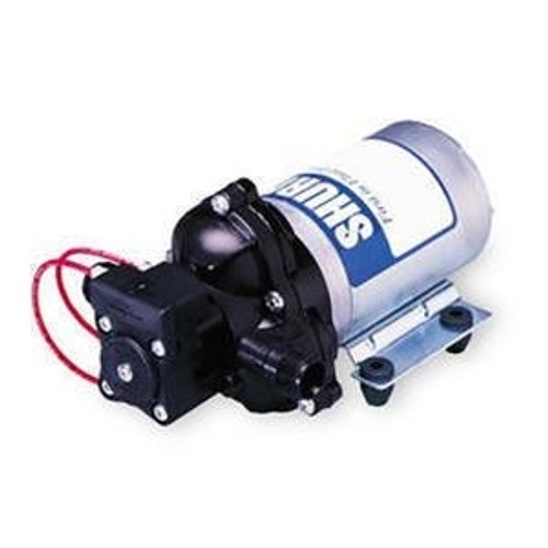 Shurflo 2088-343-435 12v DC Spray Pump with Viton valves & Santoprene diaphragms, 11.4 L/min open flow and 45 psi pressure switch