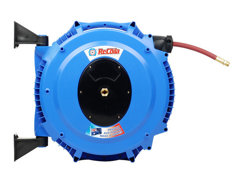 Recoila Air & Water retractable hose reel with 18m of 12mm hose