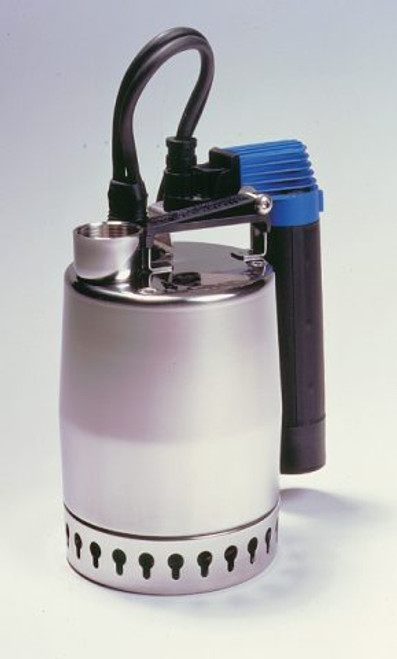 The Grundfos KP sump pump