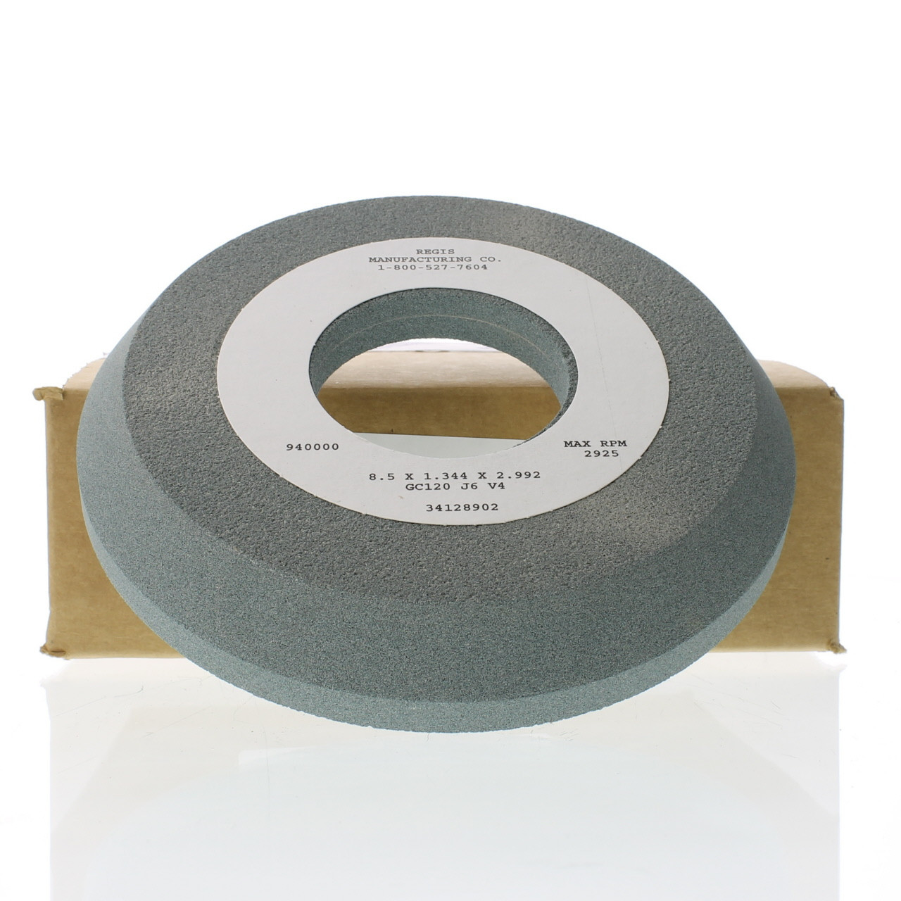 215mm X 35mm X 76mm Flare Titanium Valve Refacer Wheel K 821 Regis Manufacturing