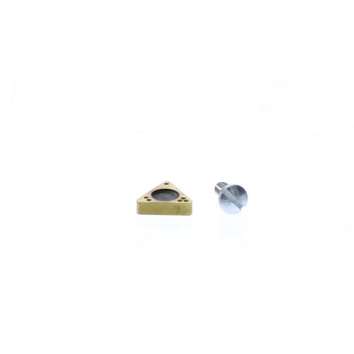 Ammco Brake Lathe Tip, Tin Coated Gold Neg. Rake - C-1001