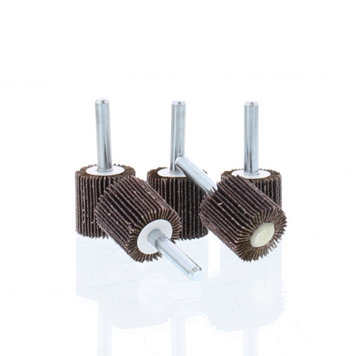 "Engine Porting Flap wheel, 60 grit, 1"" x 1"" x 1/4"" (5/PCS) - EPF"