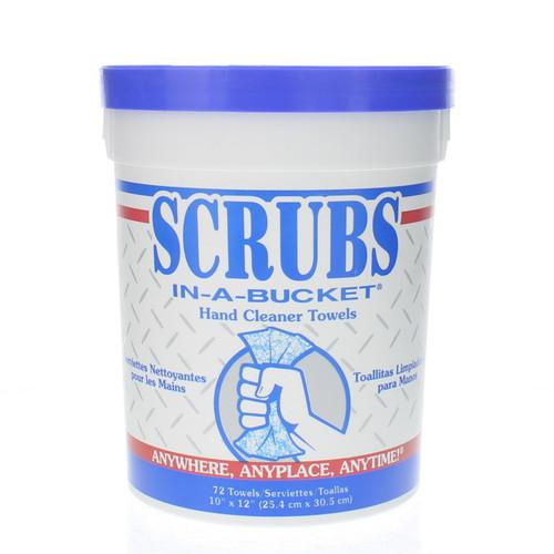 "SCRUBS® In-a Bucket Hand Cleaner Towels 72/Ct. 10"" X 12"" - SIB-72"