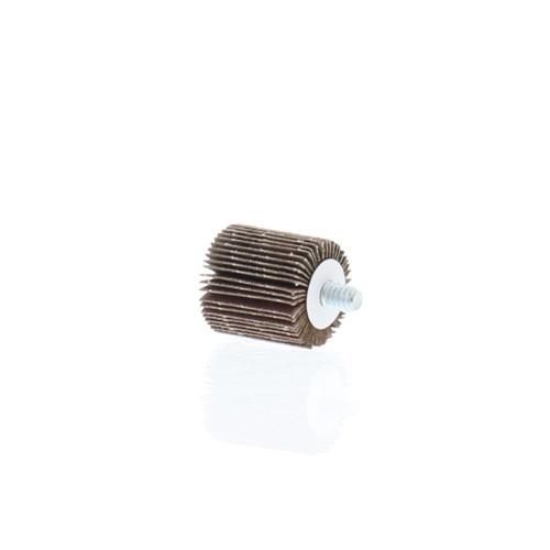 "1"" dia., 120 grit - Abrasive Flapwheels - 1"" wide, 1/4"" x 20 thread - FW-1-120"