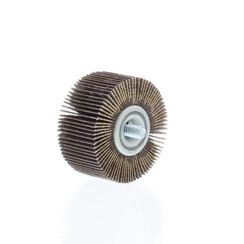 "2"" dia., 120 grit - Abrasive Flapwheels - 1"" wide, 1/4"" x 20 thread - FW-2-120"