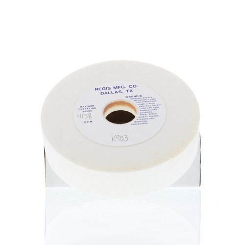 "6"" x 1-1/2"" x 1-1/4"" Cup Wheel White Aluminum Oxide Grinding Wheels"