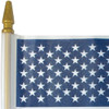 "4"" x 6"" PLASTIC U.S. STICK FLAG"