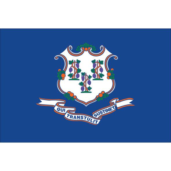 Connecticut State Flag Nylon