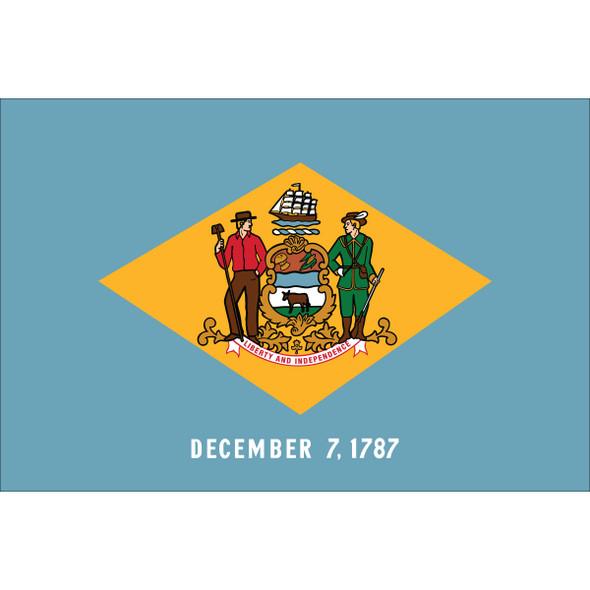 Delaware State Flag Nylon