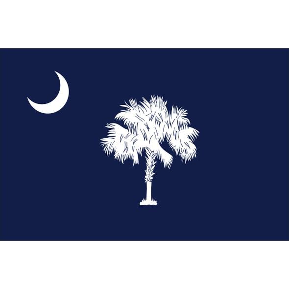 South Carolina State Nylon Flag