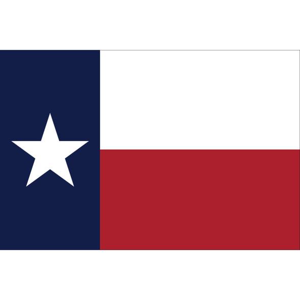 Texas State Nylon Flag