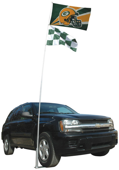 Tailgate Stand For Flagpoles To Go