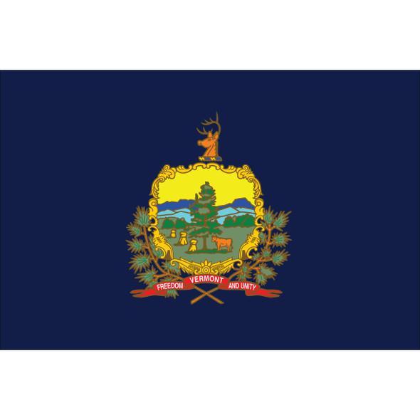 Vermont State Nylon Flag