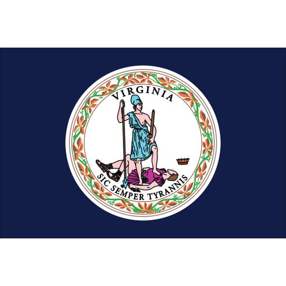 Virginia State Nylon Flag