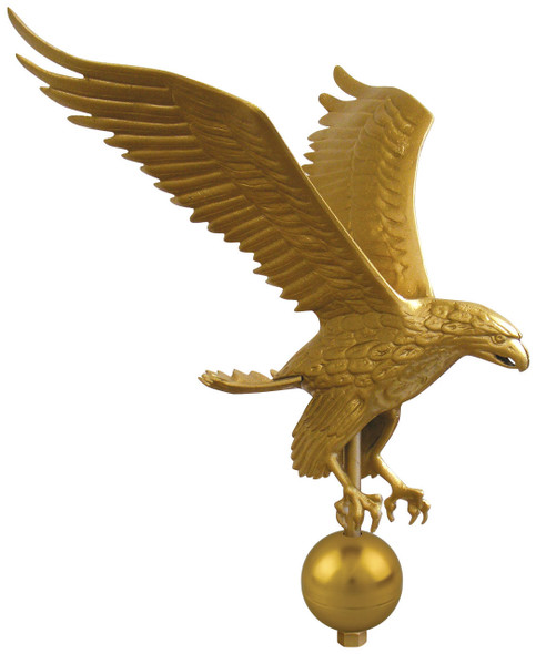 "3"" Gold Globe For Eagle"
