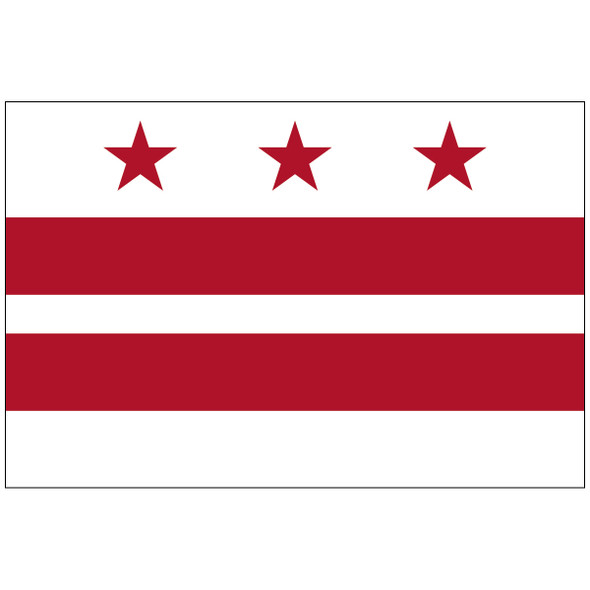 District of Columbia Territory Nylon Flag