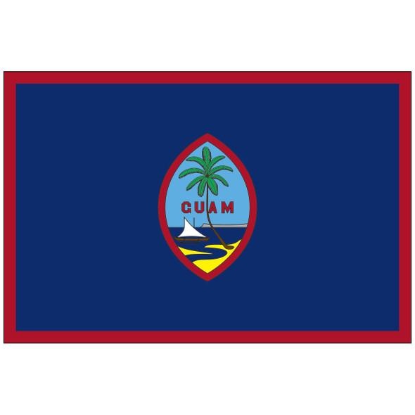 Guam Territory Nylon Flag